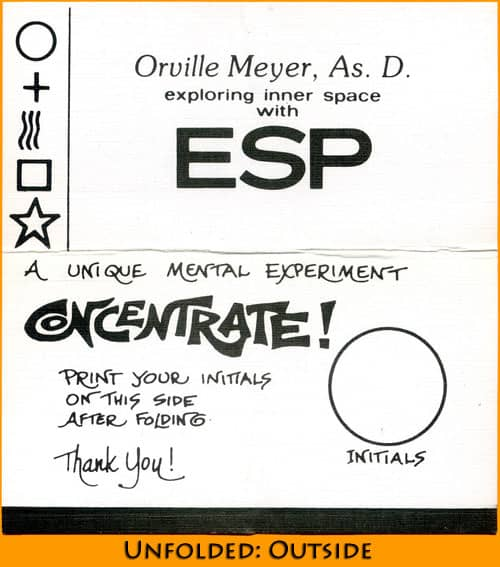 Orville meyers burling hull style business card unfolded outside reheart Image collections